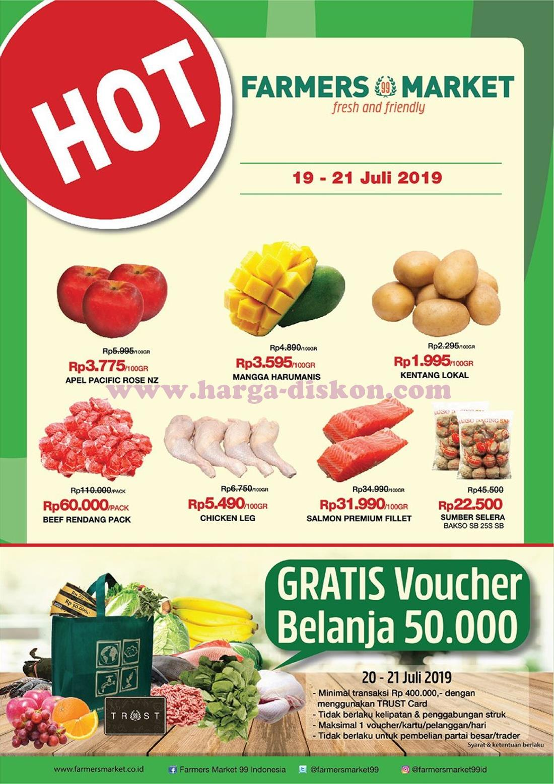 Promo Farmers Market Akhir Pekan 19 21 Juli 2019 News And Talking