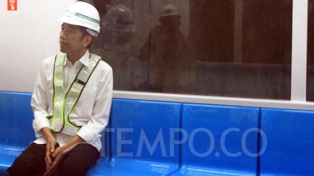 Jokowi Sebut Tarif MRT Rp 9.000, Anies Baswedan: Jangan Buru-buru