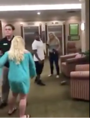 White woman becomes internet sensation after she beat up a racist white woman twice her size (Video).