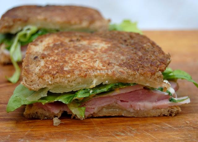 Sándwich de Lacón y Queso Manchego