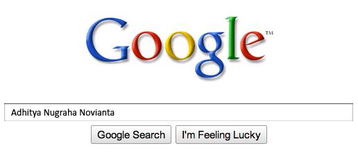 Hilang Dari Google