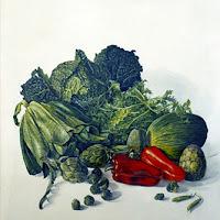 Isidro Ventura pintura bodegón naturaleza muerta