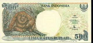 Uang lama pecahan 500 Rupiah