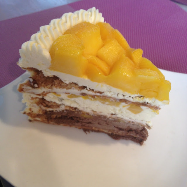 Mango heaven cake at Pink Heaven Bakeshop