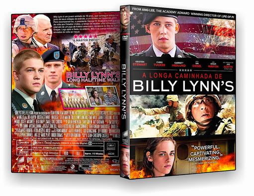 DVD-R A Longa Caminhada De Billy Lynn 2017 – AUTORADO