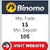 Cara Deposit dan Withdraw Binomo
