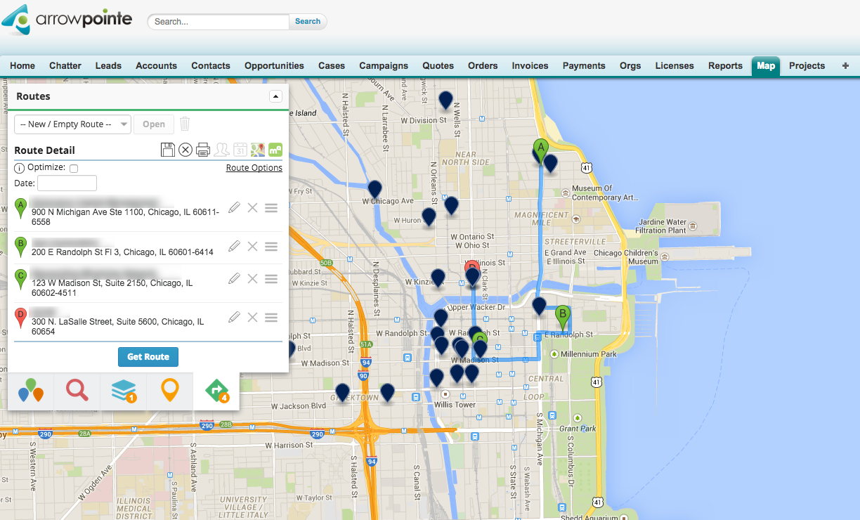 Google Maps Platform: Arrowpointe gives sales teams visual customer ...
