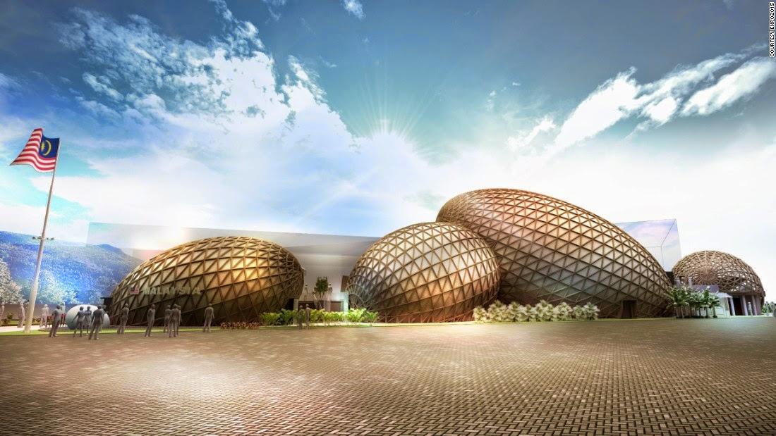 Hội chợ Milan Expo 15-gian hàng của malaysia