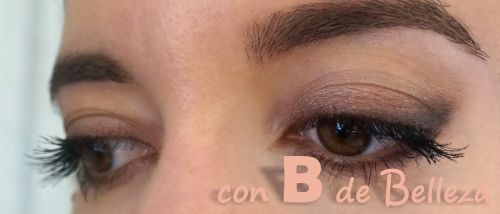 Cat eye easy make up