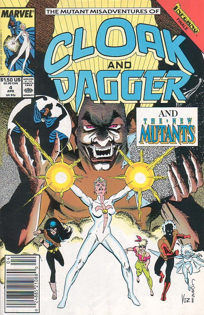 Cloak and Dagger (1990) 4 Page 1