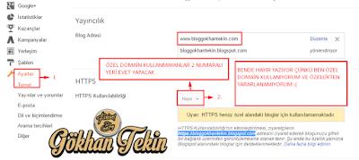 blogger https kullanımı nasıl yapılır