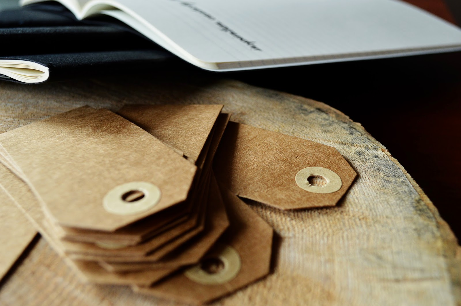 DIY Notebook Tags | Motte's Blog