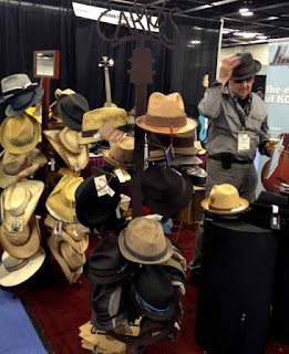 NAMM hats image from Bobby Owsinski's Big Picture production blog