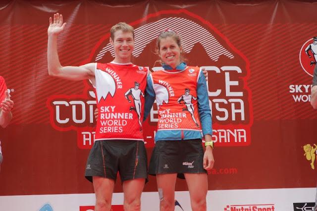Tom Owens y Laura Orgué campeones de la Skyrace Comapedrosa