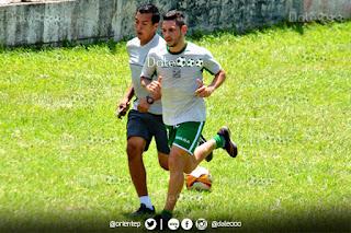 José Alí Meza comenzó a trotar y trabaja para llegar al partido ante Universitario de Perú - DaleOoo