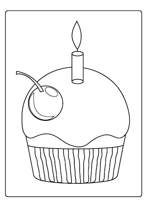 Christmas Cake Coloring Pages Colorings Net