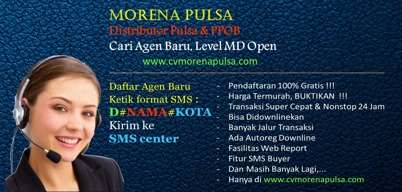 MORENA PULSA : Distributor Pulsa Murah 2018