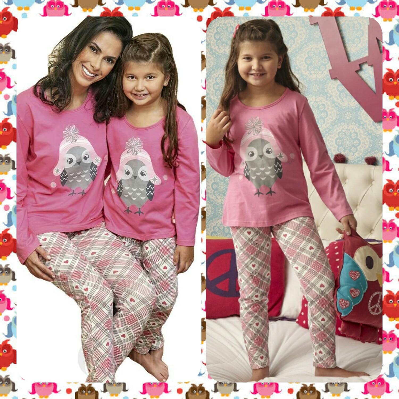 679071ea2 Sugestão de presente para o dia das Mães! Pijama mãe e filha da DeMillus
