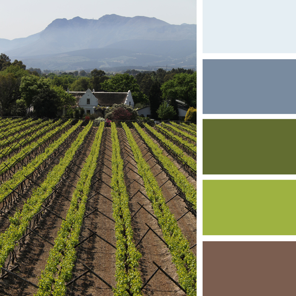 How to choose a color scheme decorating with blue green and brown