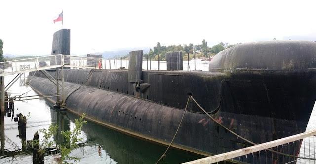 """El museo submarino """"O'Brien"""" necesita con urgencia mantenimiento de casco."""