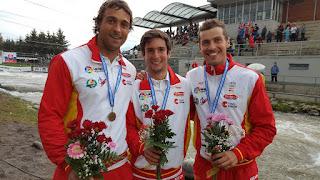 PIRAGÜISMO - Oro de Nuria Vilarrubla, bronce para el equipo de K1 y Ander Elosegi plaza olímpica y bronce