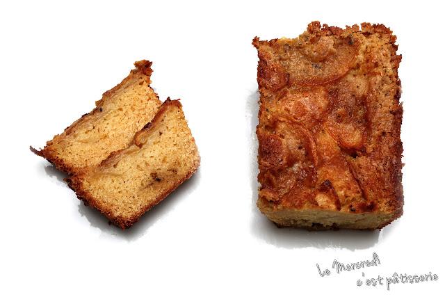 Gâteau 5, 4, 3, 2, 1 aux pommes