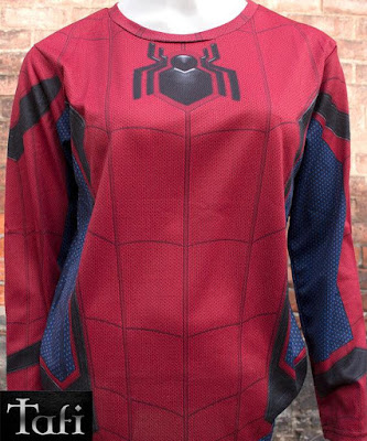 Spider-Man Cycling Top