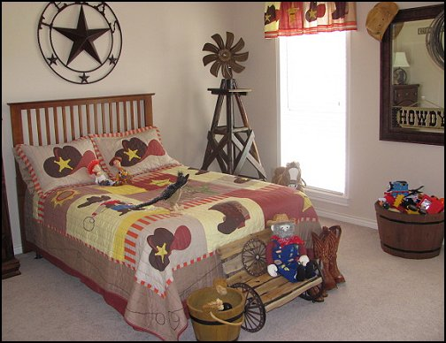 Maries Manor: Cowboy Theme Bedroom Decorating Ideas