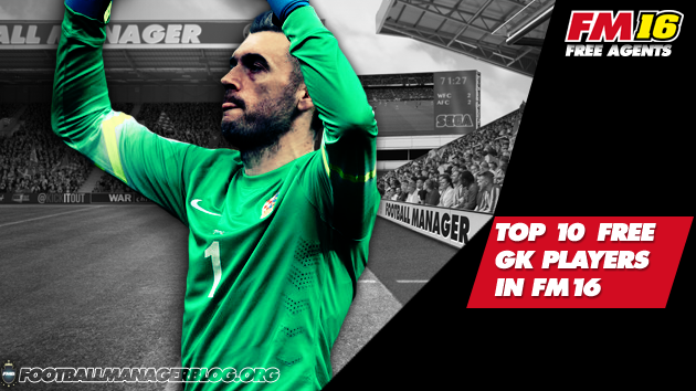 10 Best Football Manager Free Agents - Goalkeepers