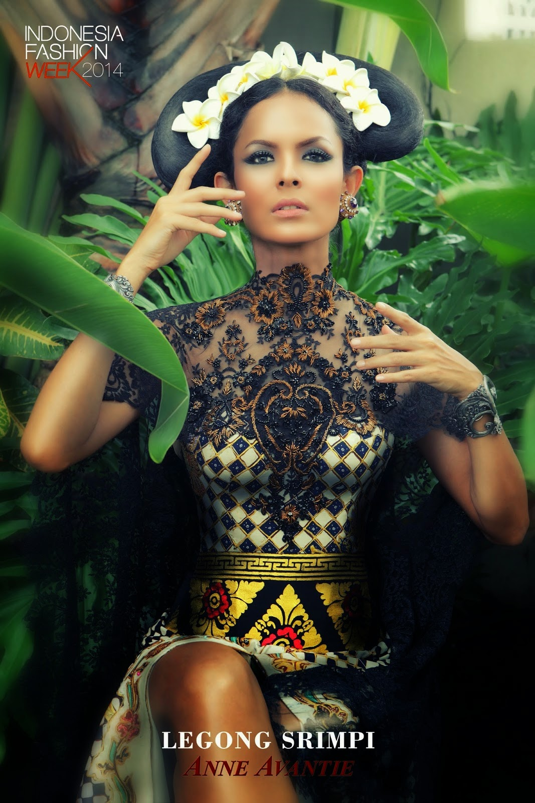 Indonesia Fashion Week 2014 Legong Srimpi Collection By