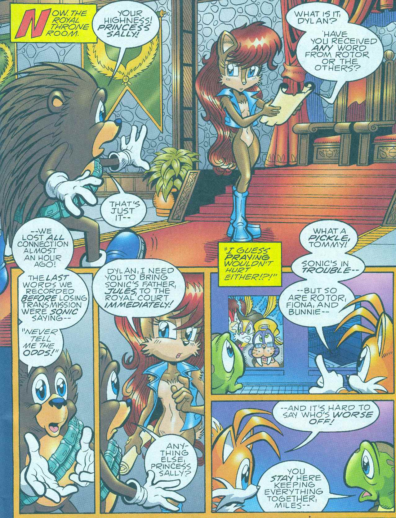 Read online Sonic The Hedgehog comic -  Issue #148 - 2