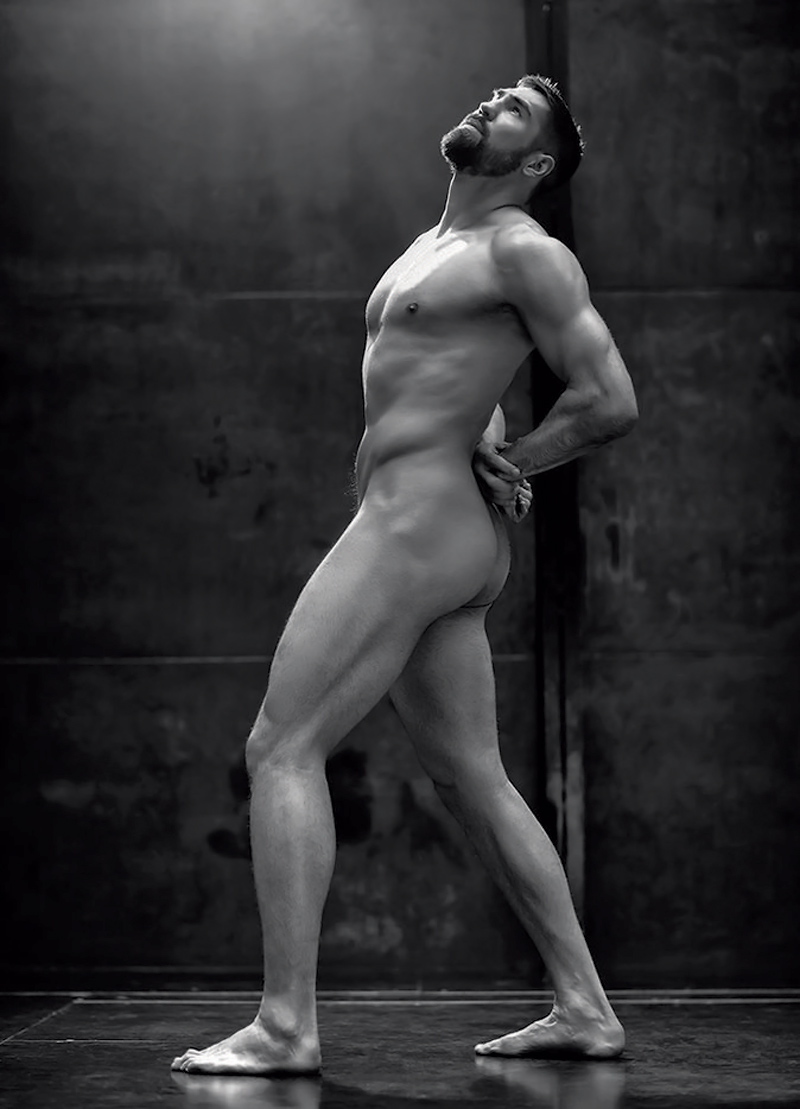 Blow gay art male art nude photo print by michael taggart