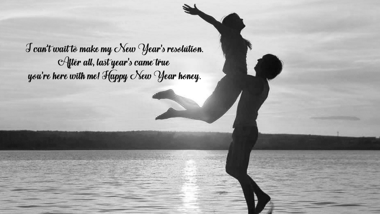 happy new year my love poem