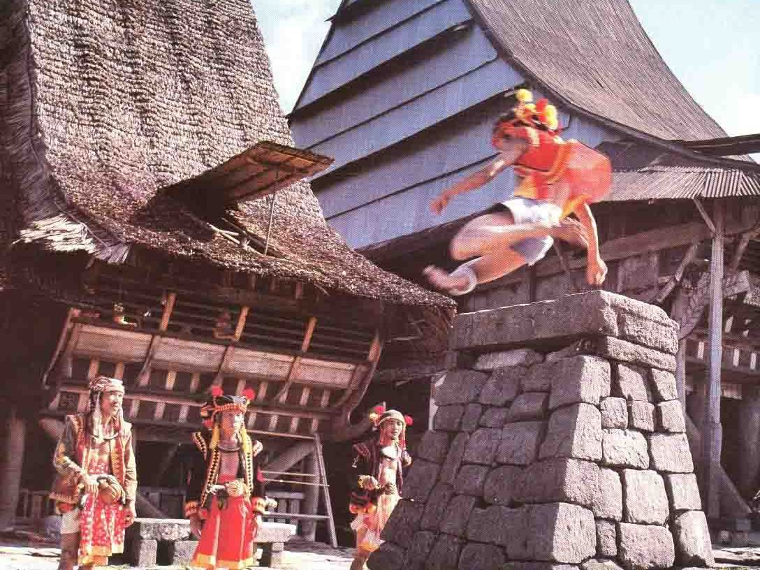 Traditional House Nias with Earthquake Resistant  The