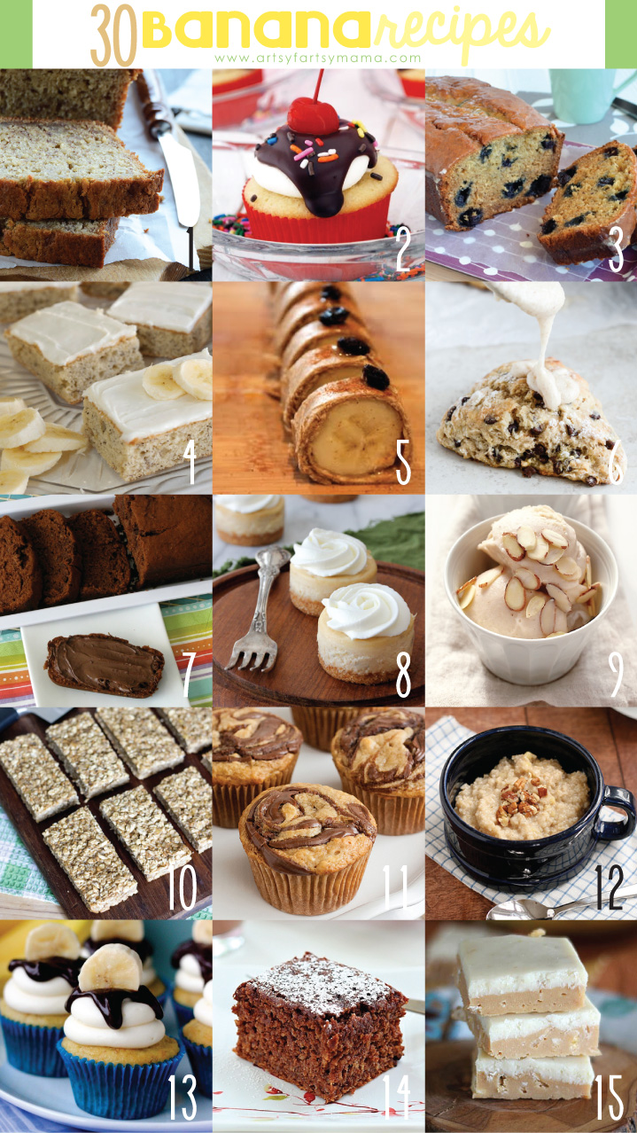 30 Banana Recipes
