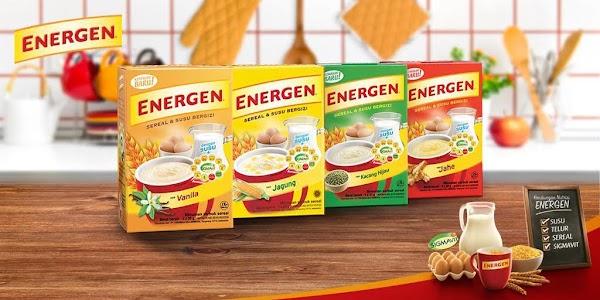 ENERGEN, Sarapan Sehat untuk Memulai Pagi