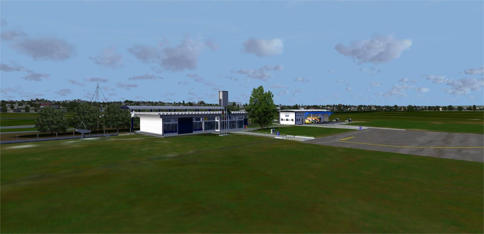 SBBGX2017 - Aeroporto ded Bagé FSX, Prepar3D vs 3, 4