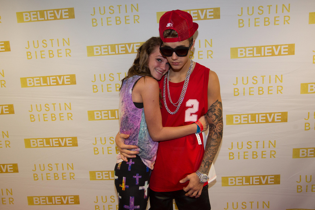justin bieber meet and greet in seattle
