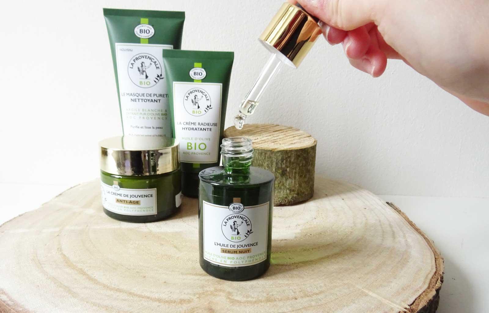 La Provençale soins visage bio naturels huile jouvance
