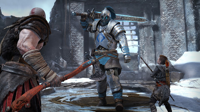 سوني تشاركنا 4 دقائق لأسلوب اللعب مليئة بالإثارة في لعبة God of War