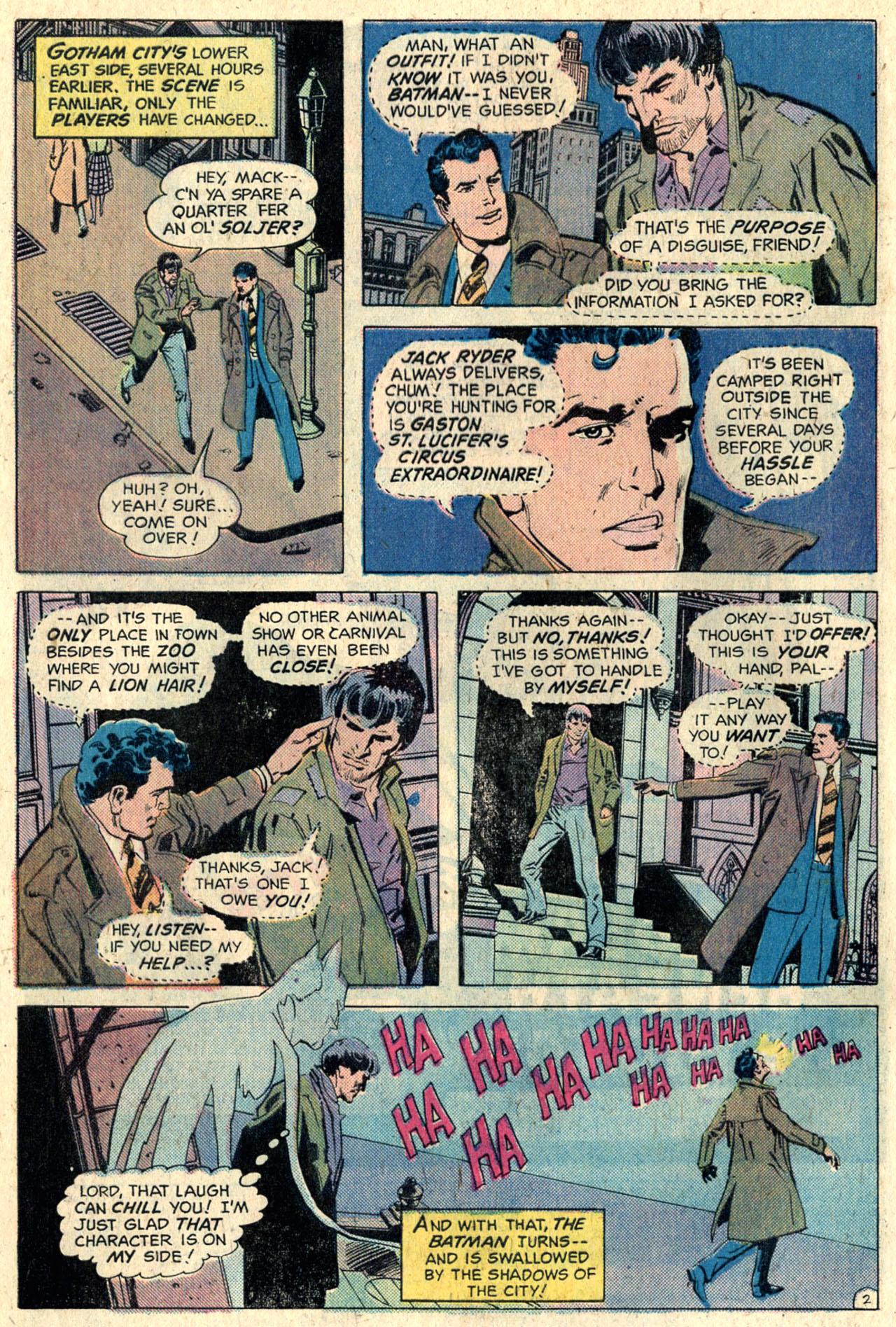 Detective Comics (1937) 448 Page 3