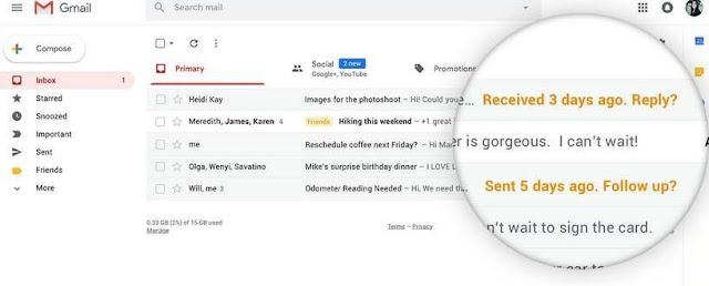 8 Fitur Terbaik Gmail Baru Mudahkan Pengguna