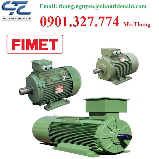 Động cơ Điện FIMET - Đại lý động cơ FIMET Tại Việt Nam