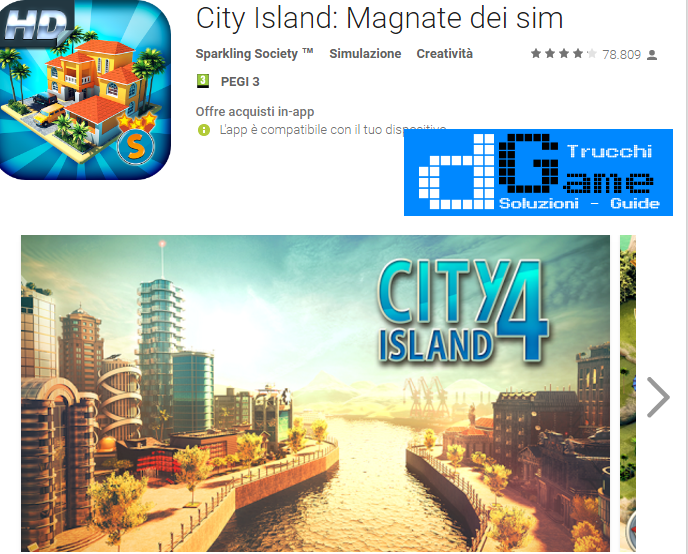 Trucchi City Island 4: Sim Tycoon Mod Apk Android v1.6.0