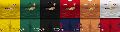 PES 6 Kits CA Osasuna Season 2018/2019 by VillaPilla