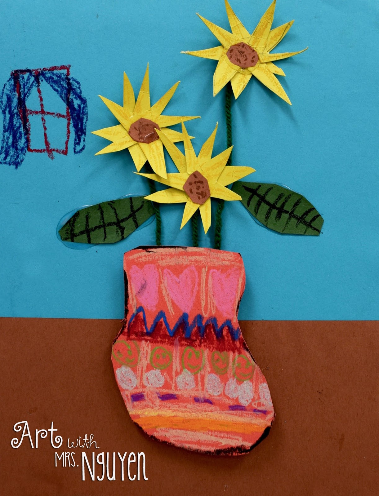 Sunflower Paper Flowers