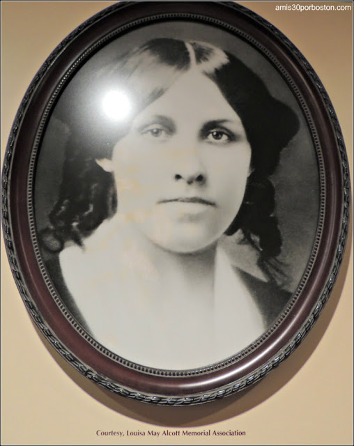 Museo de Concord: Louisa May Alcott