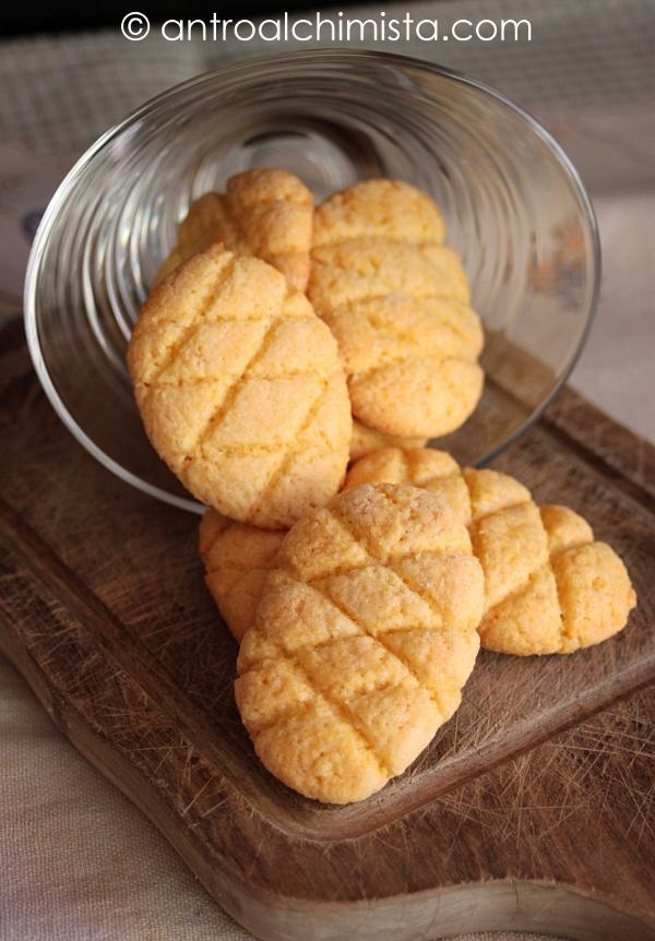 Biscotti Delicati di Farina di Mais e Olio Extravergine d'Oliva