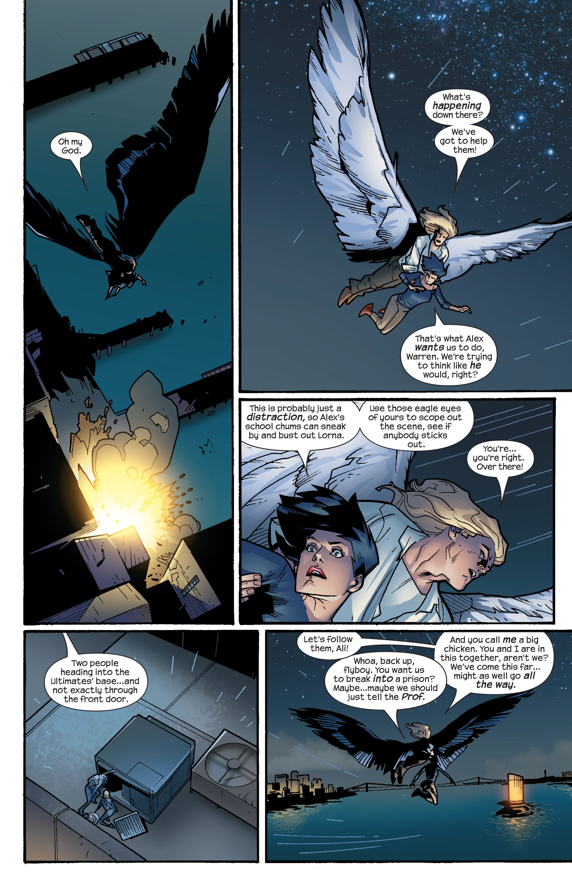 Read online Ultimate X-Men comic -  Issue #64 - 17