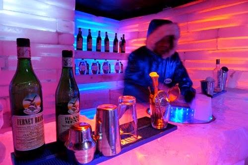 Glaciarium Bar em El Calafate